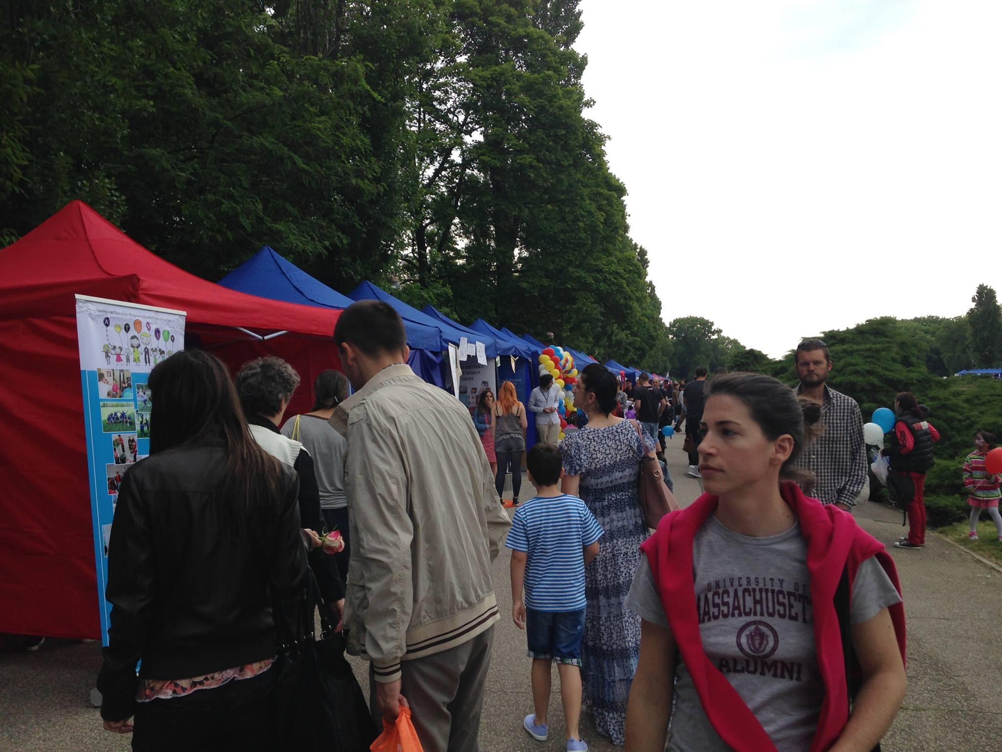 Bukarest ONG Civil Fesztivál