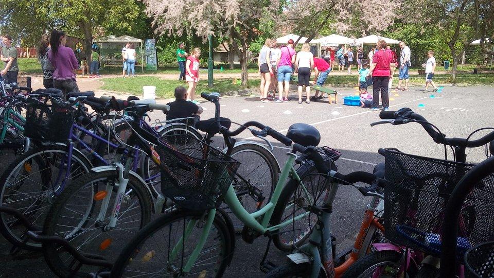 Kerékpározás népszerűsítése Bőcsön