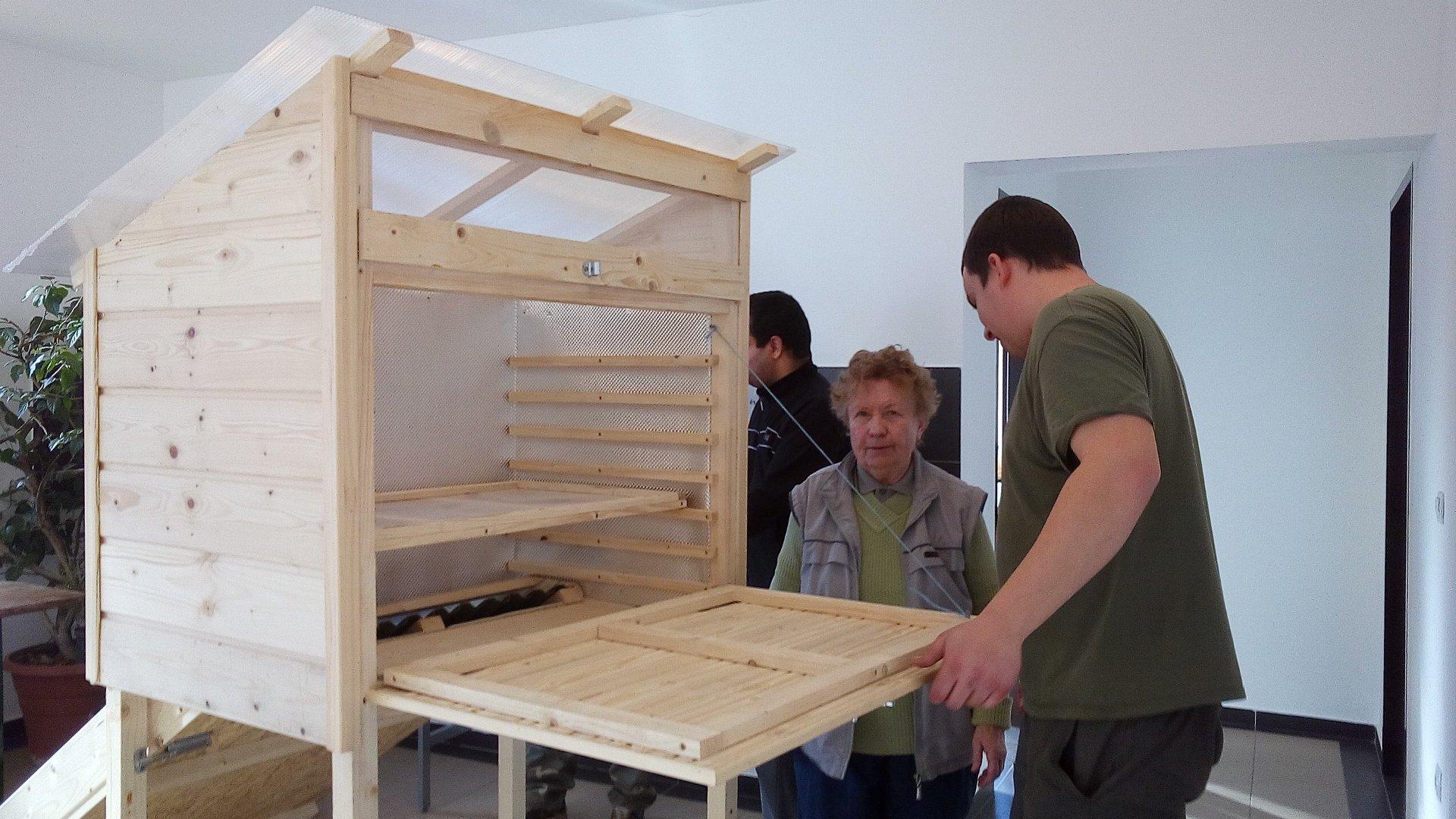 Napkollektort építettünk januárban :)
