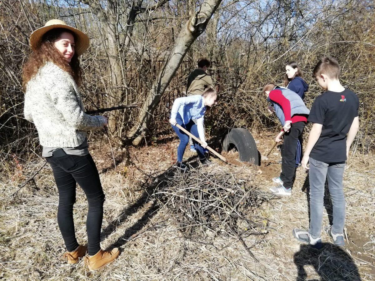 Avasi Közösségi Pont – kertrendezés